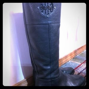 Tory Burch size 8M tall ridding boots, pre-owned